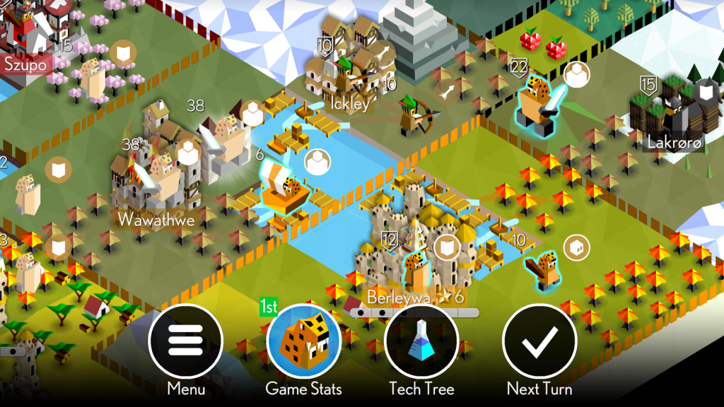 Best Strategy Games for Android – The Battle of Polytopia