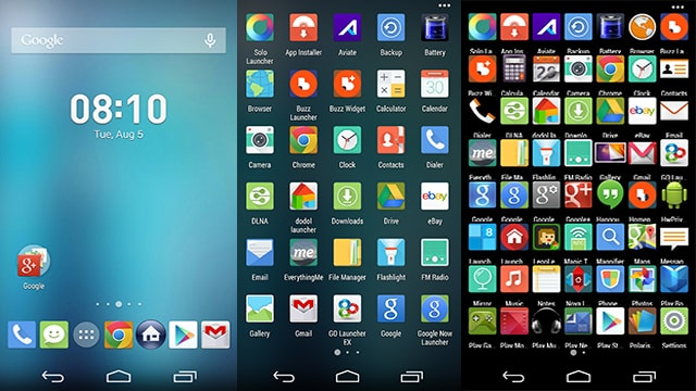 #4 in Our Best App Launcher for Android List - Apex