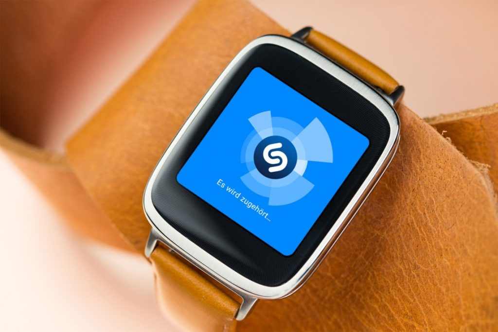 Best Android Wear Apps - Shazam