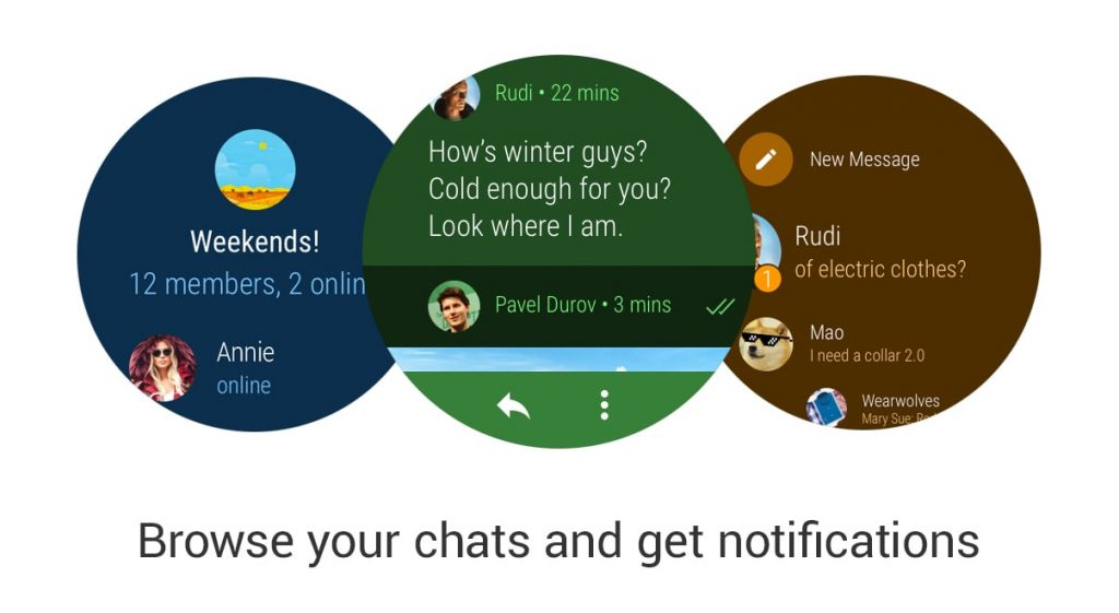 Best Android Wear Apps - Telegram