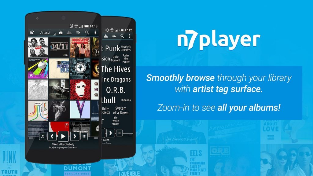 Best Music App for Android - n7player