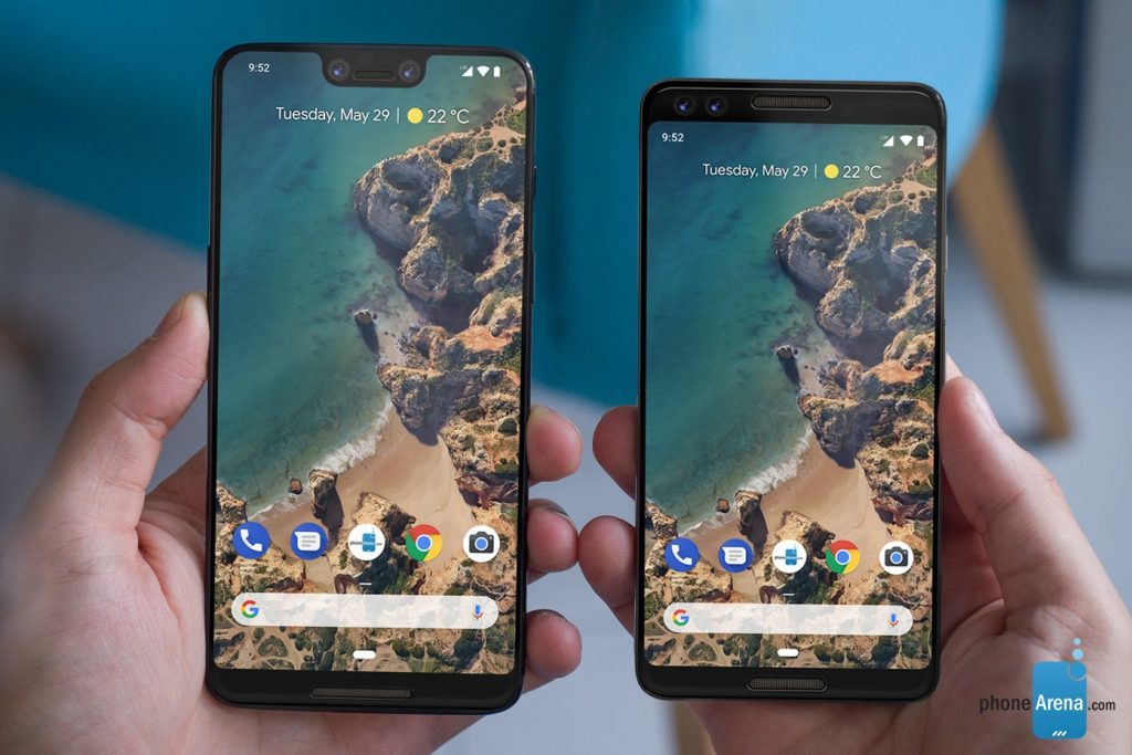 New Android Phones - Google Pixel 3 and Pixel 3 XL (October 9)