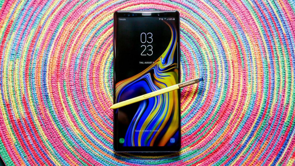 #3 in Our Best Camera Phone List - Samsung Galaxy Note 9