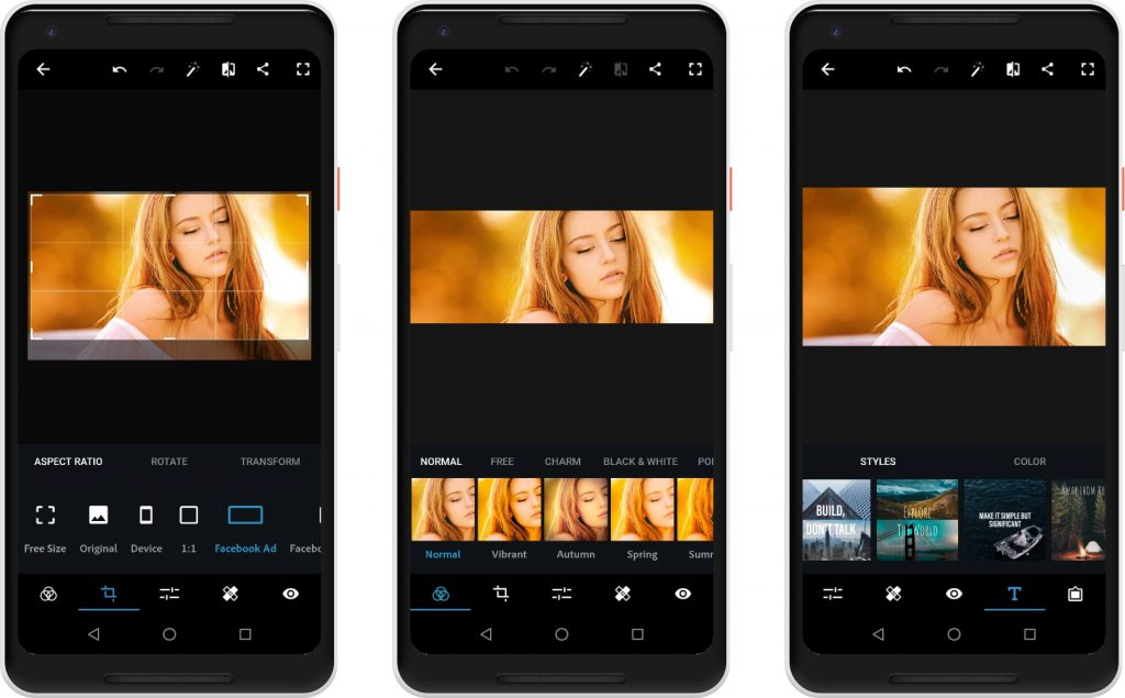 6. Adobe Photoshop Express - Best Photo Editor for Android