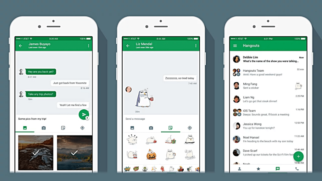 6. Google Hangouts - Popular Messaging Apps