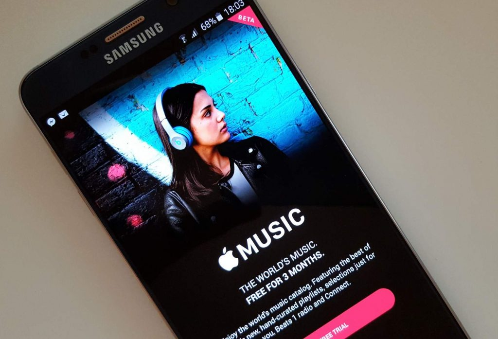 Best Music App for Android - Apple Music