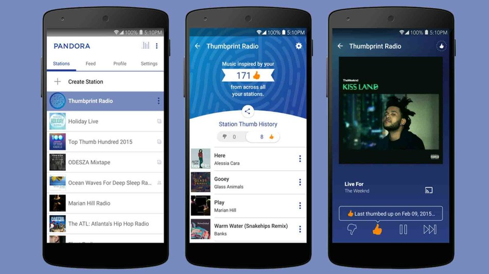 Best Music App for Android - Pandora Radio