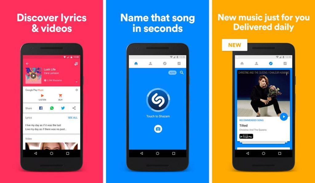 Best Music App for Android - Shazam