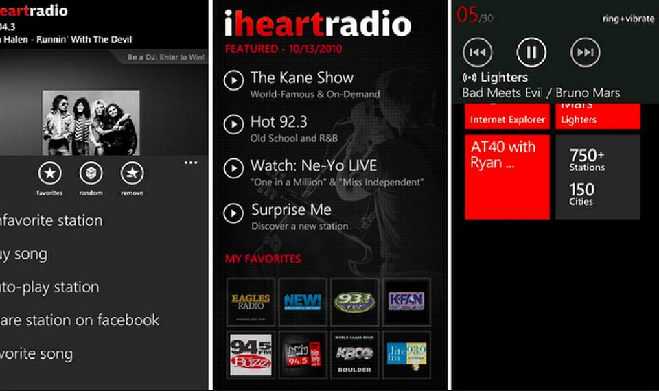 Best Music App for Android - iHeartRadio