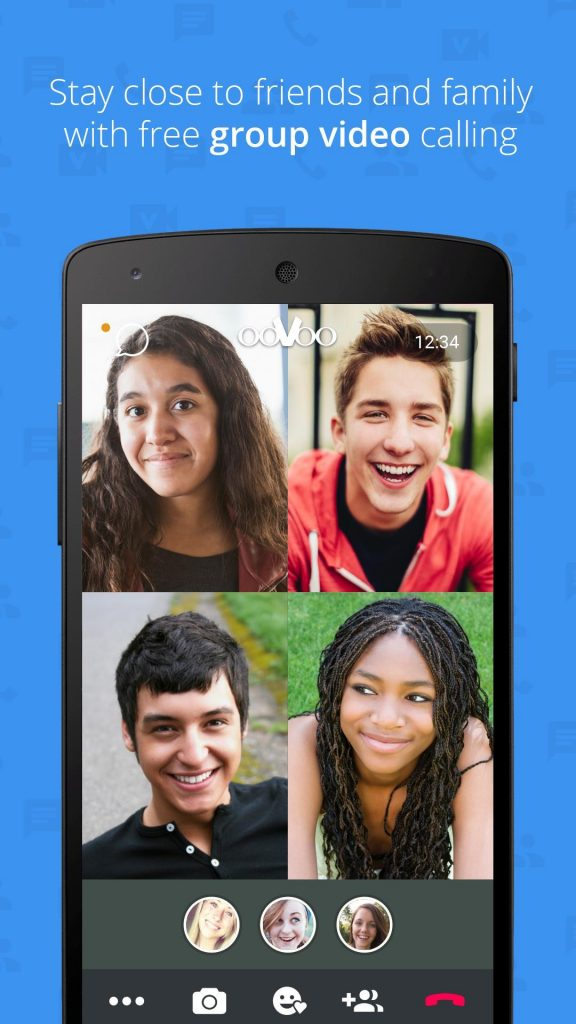 ooVoo - Best Video Calling App List