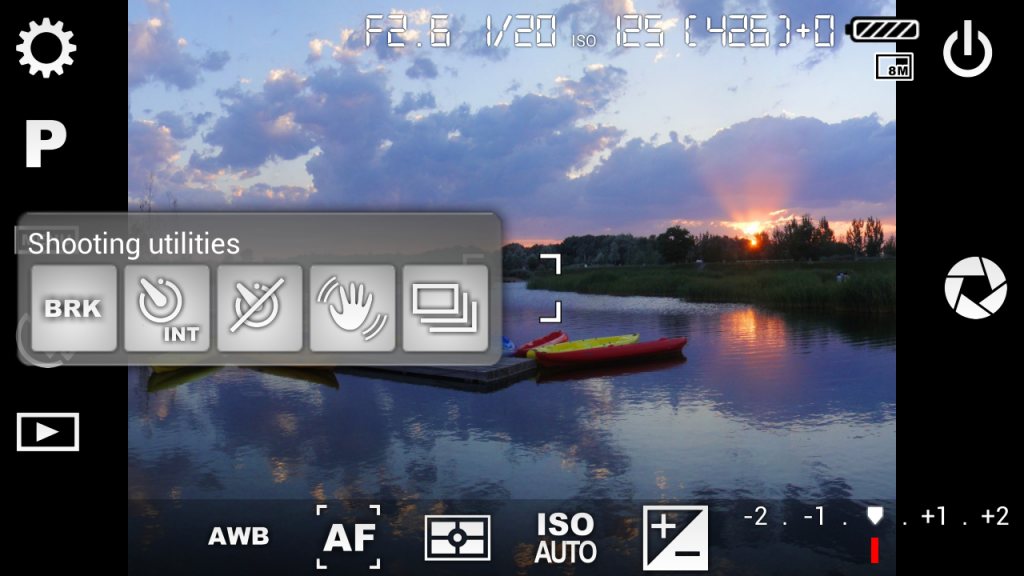 1. Camera FV-5 – The Best Android Camera App for DLSR-like Photography