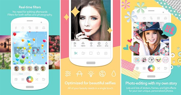 4. Candy Camera – One of the Best Camera Apps for Android for the Selfie Enthusiasts