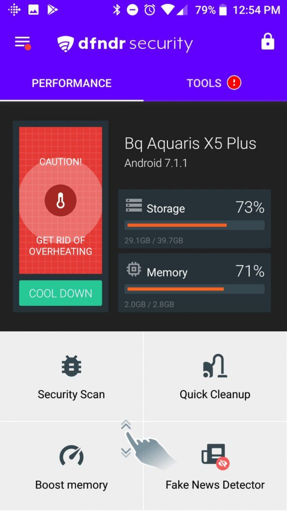 8. DFNDR Security – Best Antivirus for Android that Costs No Money