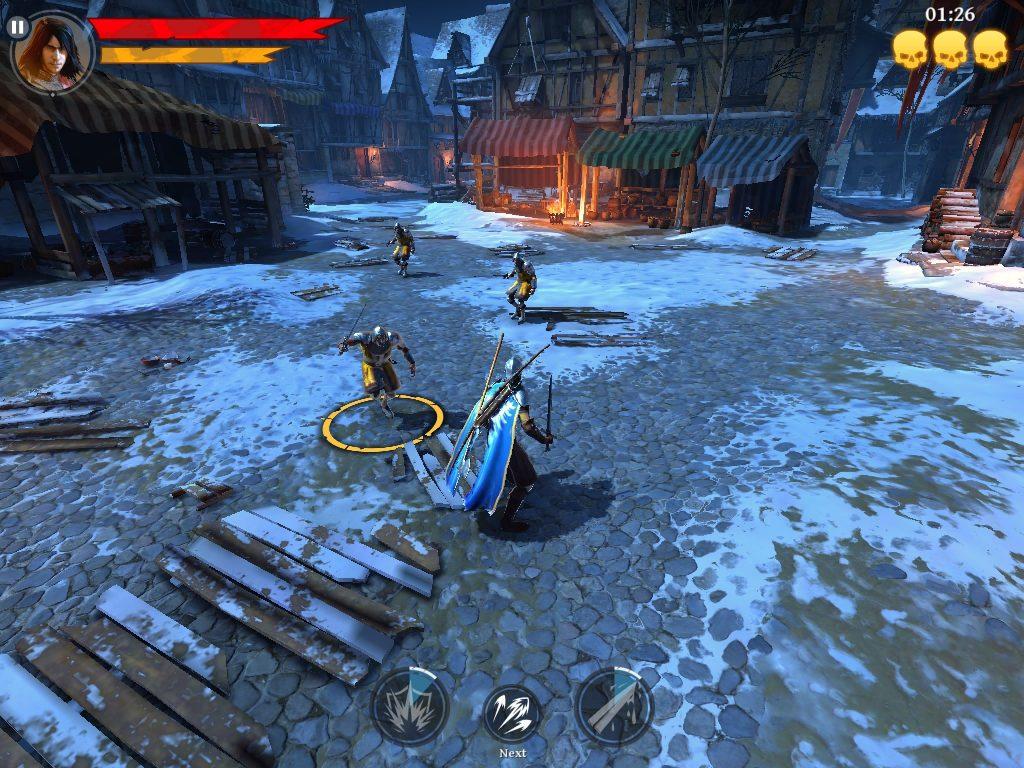 2. Iron Blade: Medieval Legends RPG