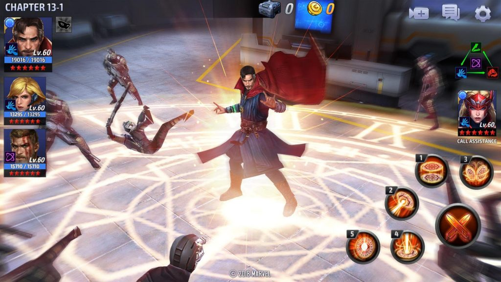 Marvel Future Fight – One of the Best Hack and Slash Games for Comic Lovers
