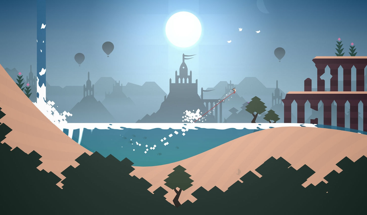1. Alto's Odyssey – The Best Offline Mobile Game in Our List