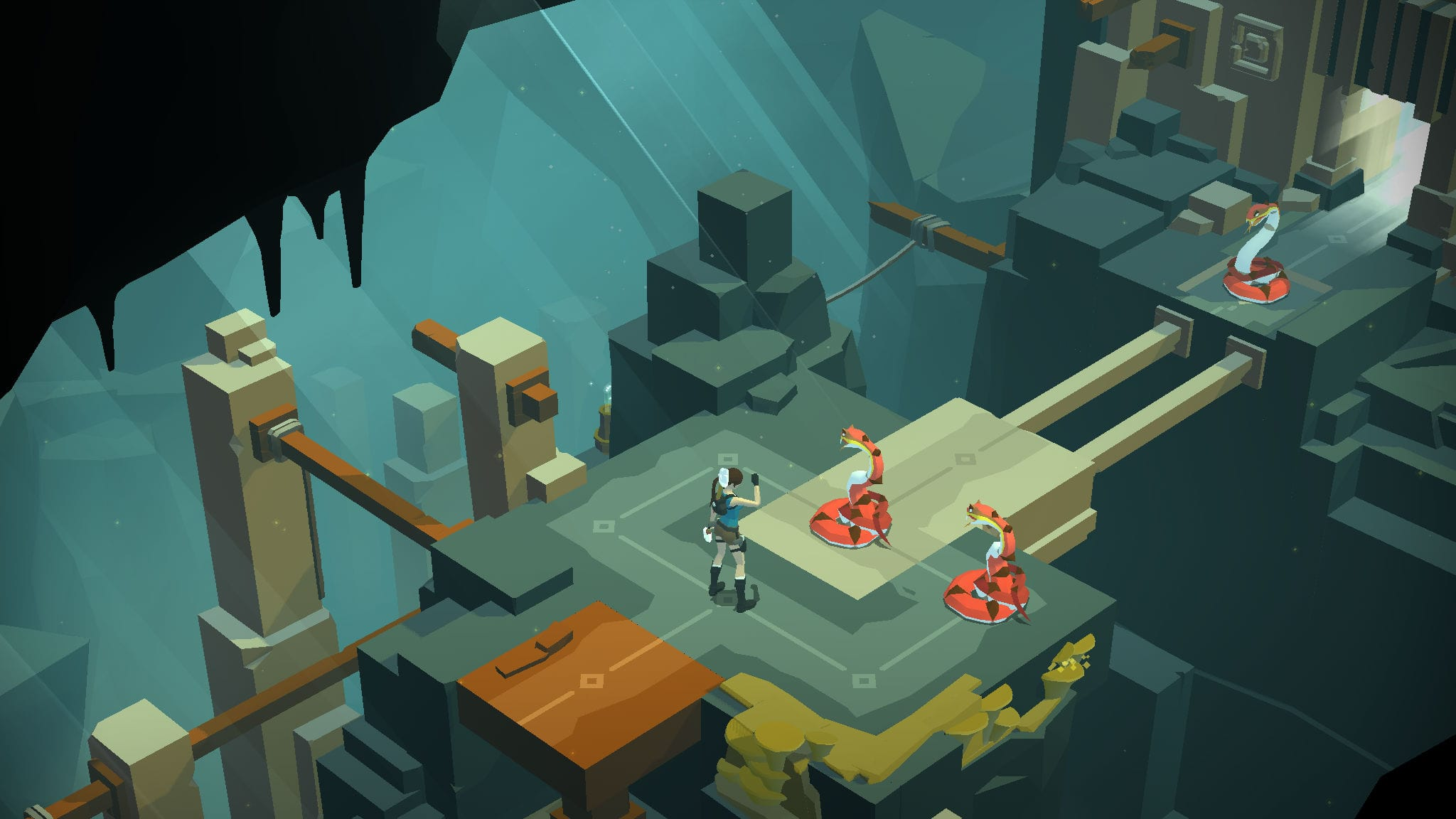 16. Lara Croft Go – The Best Offline Mobile Game for Tomb Raider Series Enthusiasts