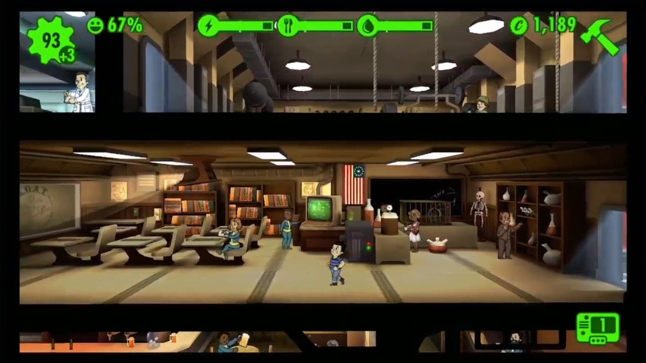 18. Fallout Shelter – One of the Best Offline Mobile Games In terms of Unique Simulation