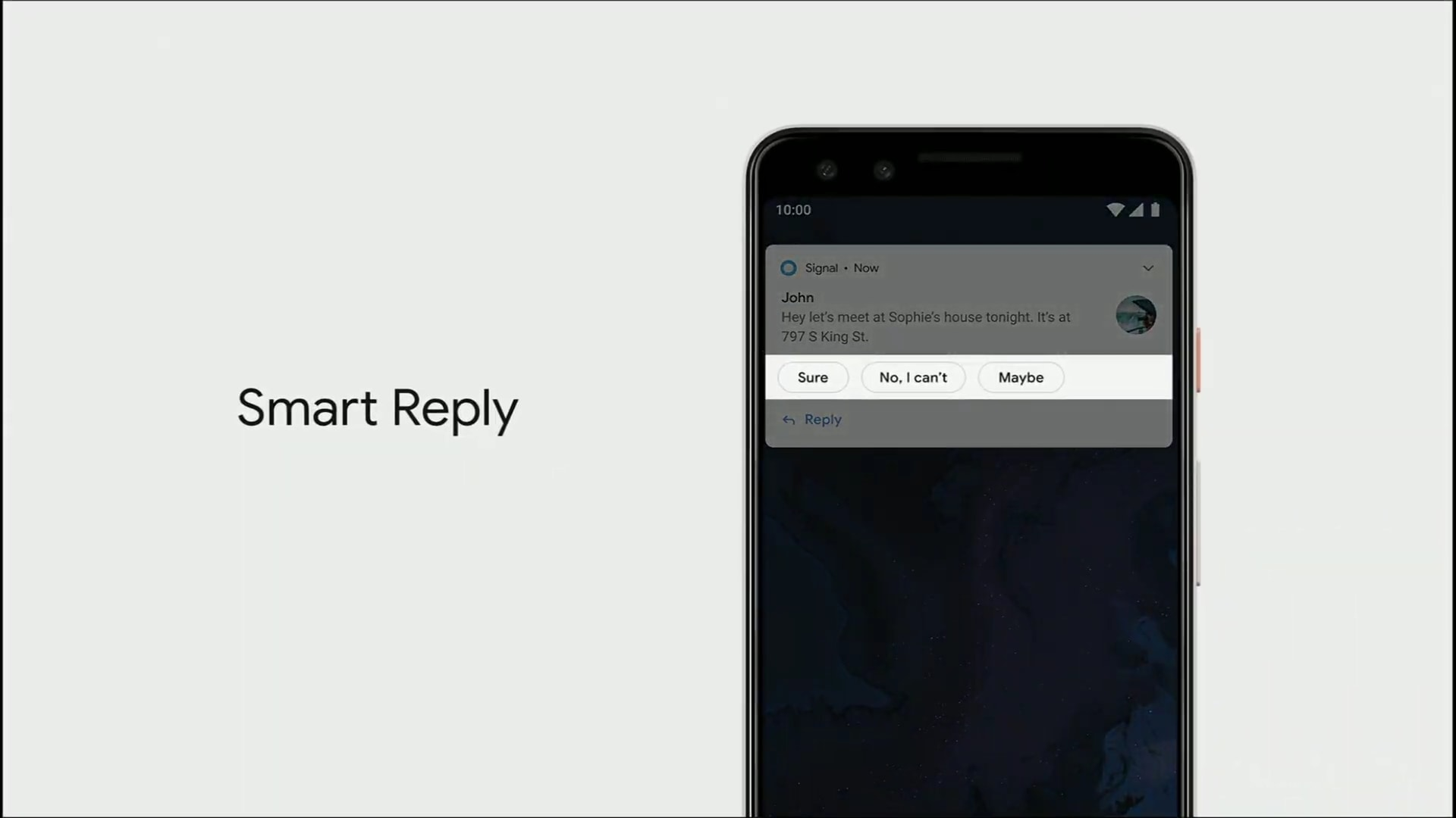 Response Quickly with Smart Reply